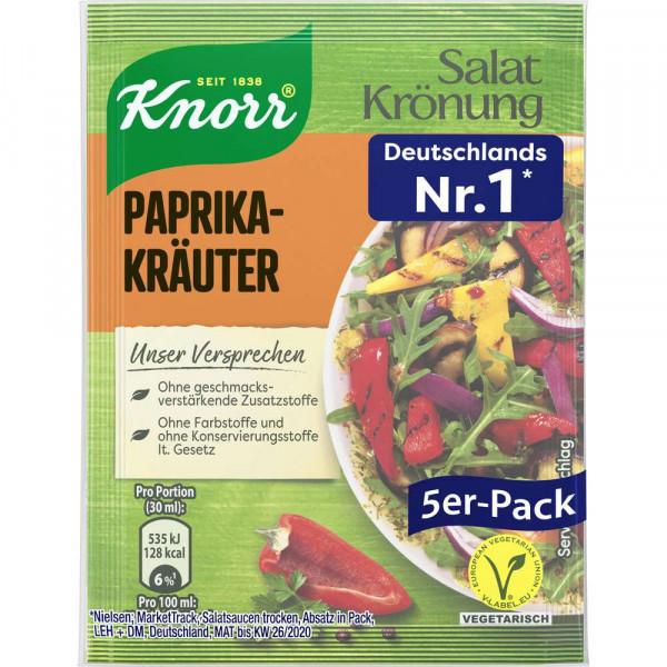 Salat Krönung, Paprika-Kräuter
