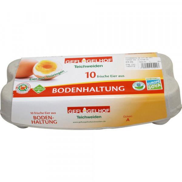 Eier aus Bodenhaltung, Gr. L