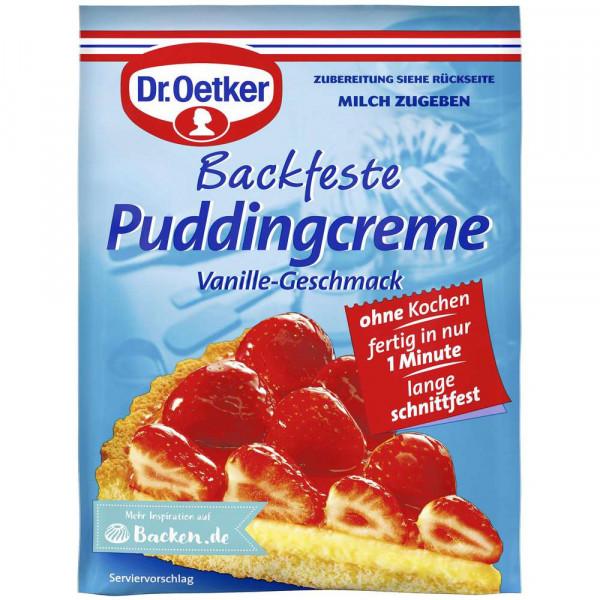 Backfeste Puddingcreme