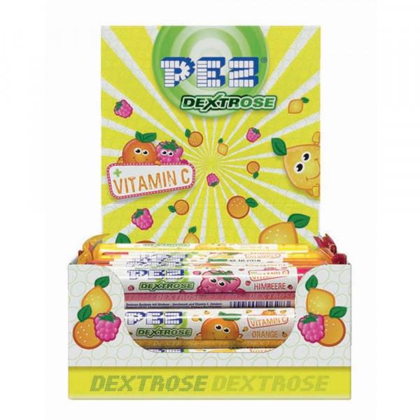 PEZ Traubenzuckerrolle Frucht-Mix