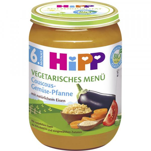 Babynahrung Menü, Couscous-Gemüse
