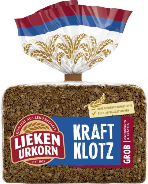 "Vollkorn Brot ""Kraftklotz"""