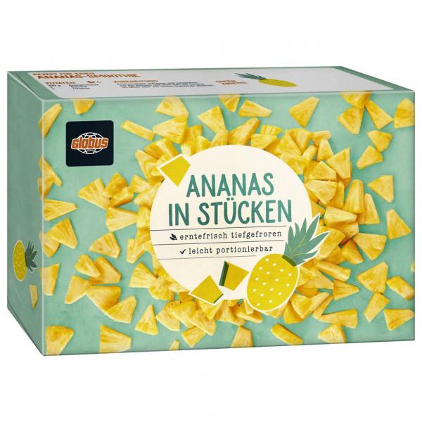 Ananasstücke, tiefgekühlt