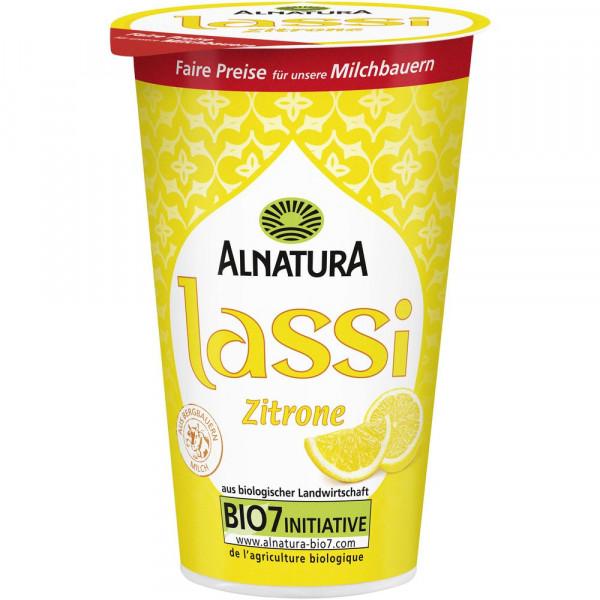"Bio Joghurtgetränk ""Zitronenlassi"""