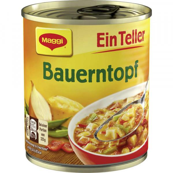 """Eintopf """"Ein Teller"""", Bauerntopf"""