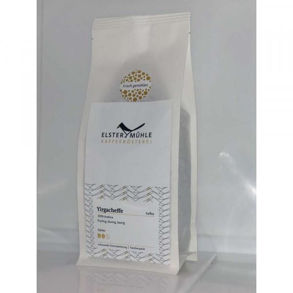 Kaffee Yirgacheffe, gemahlen