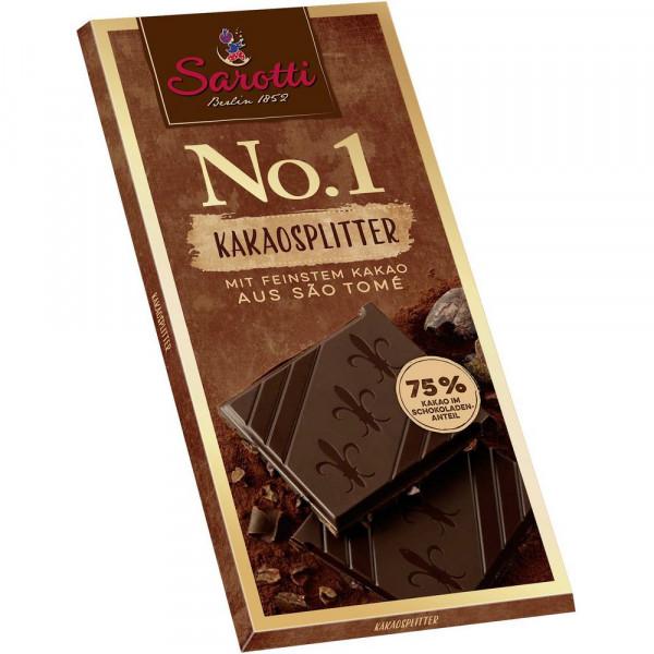 """Tafelschokolade """"No. 1"""" Kakao 75%"""