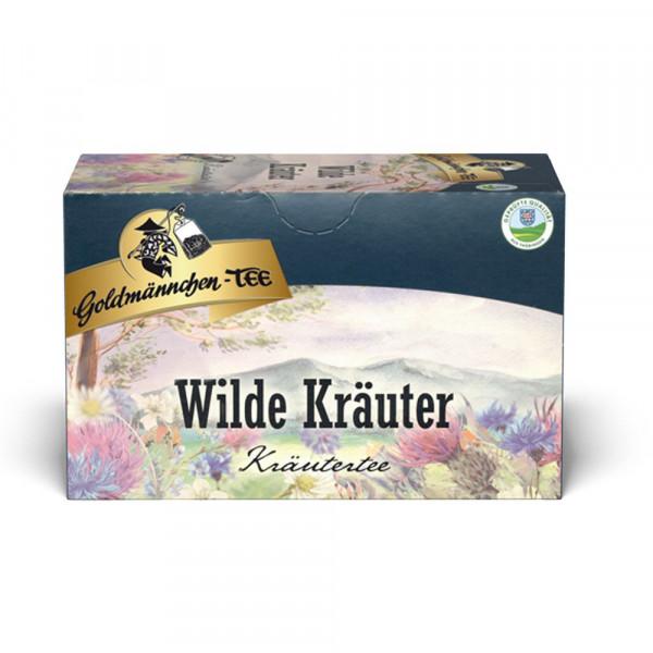 Wilder Kräuter Tee