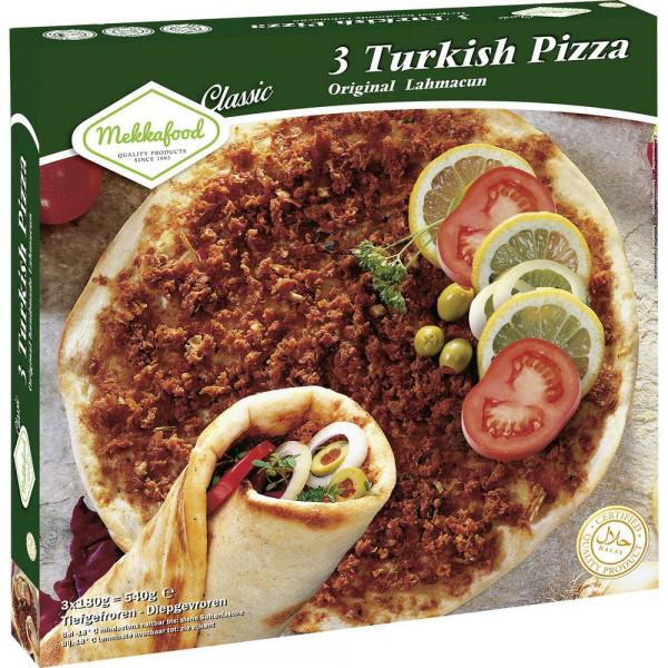 Türkische Pizza, tiefgekühlt