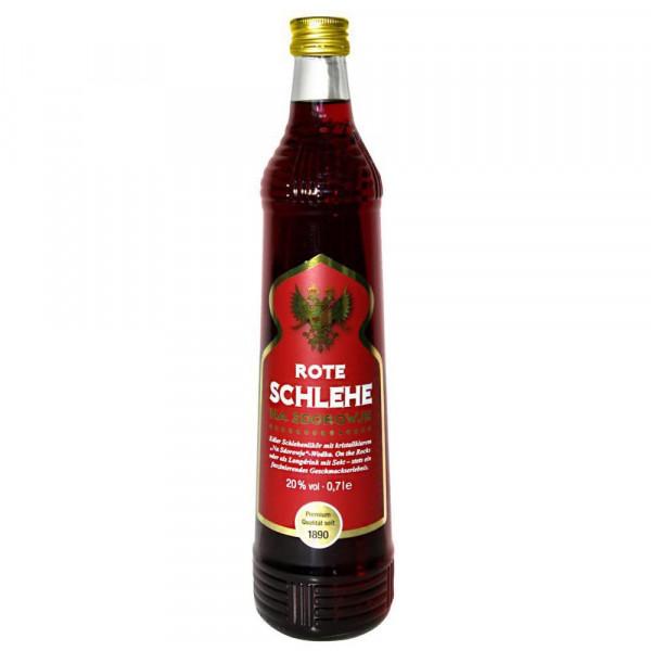 Roter Schlehe Vodka 20%