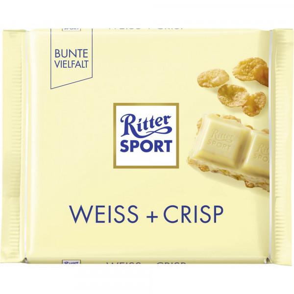 Tafelschokolade, Weisse Crisp