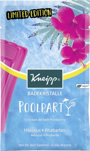 """Badekristalle """"Poolparty"""", Hibiskus & Rhabarber"""