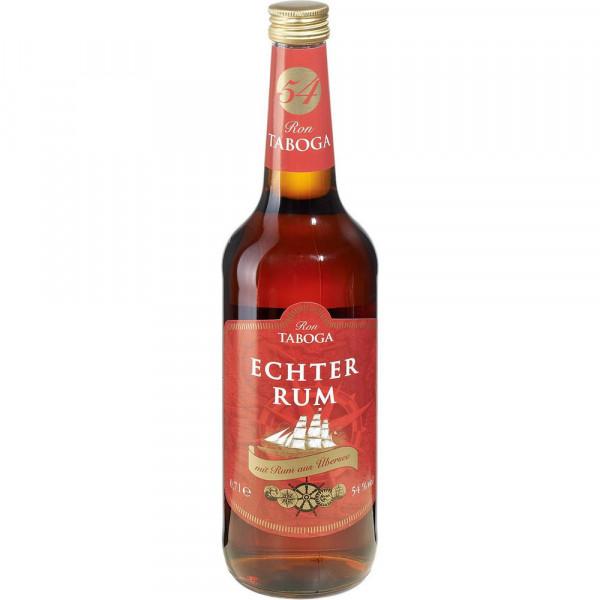 "Dunkler Rum ""Echter Rum"", 54 %"