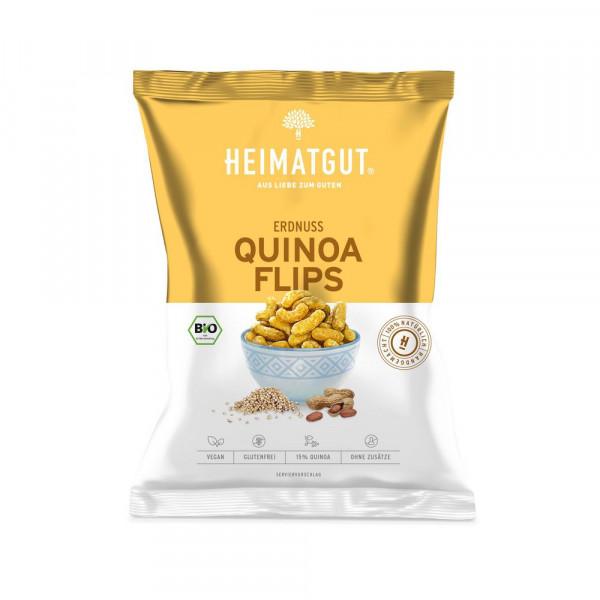 Bio Erdnuss-Quinoa-Flips