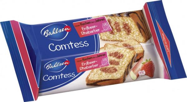 Comtess Rührkuchen mit Erdbeer-Rhabarbergeschmack