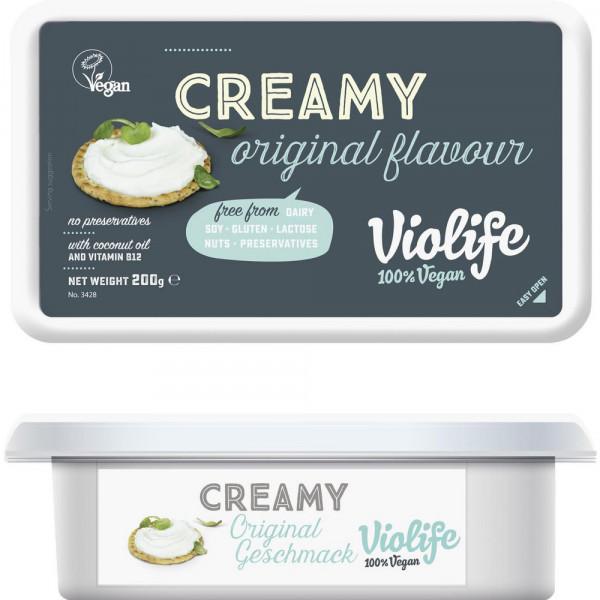 """Frischkäseersatz """"Creamy"""", Kokosnuss/Vitamin B12"""