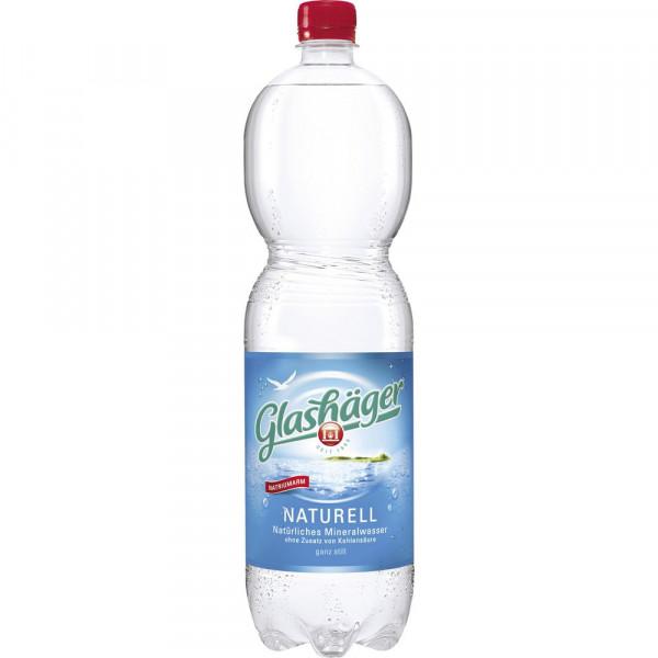 Mineralwasser, Naturell (6 x 9 Liter)