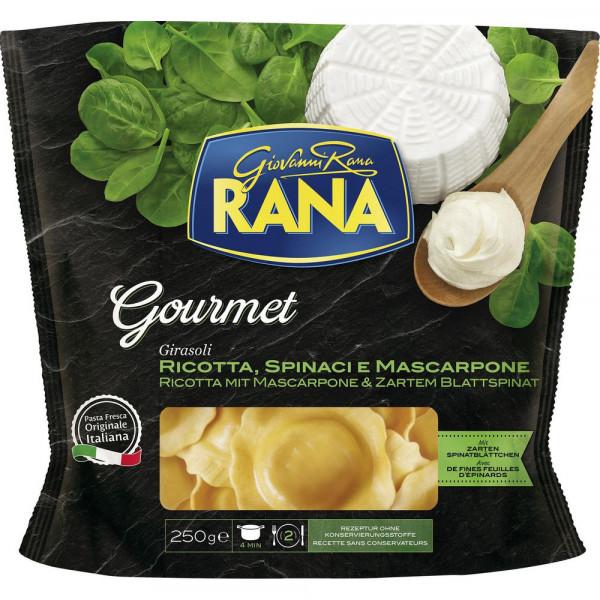 Frische Eierteigwaren mit Füllung aus Ricotta, Spinat & Mascarpone-Käse
