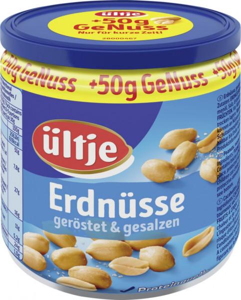 Erdnüsse, gesalzen + 50g (210 x 250 Gramm)
