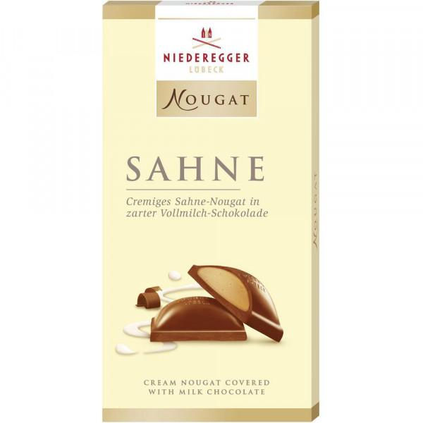 "Nougat-Schokolade ""Sahne"""