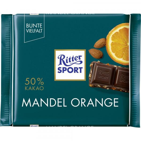 Tafelschokolade, Mandel-Orange