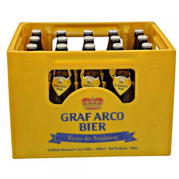 Braubursch'n Weiße Hell Bier 5,3% (20 x 0.5 Liter)