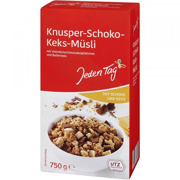 Knusper Müsli, Schoko/Keks
