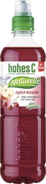 Naturelle Apfel-Kirsche Mineralwasser, Natuvelle