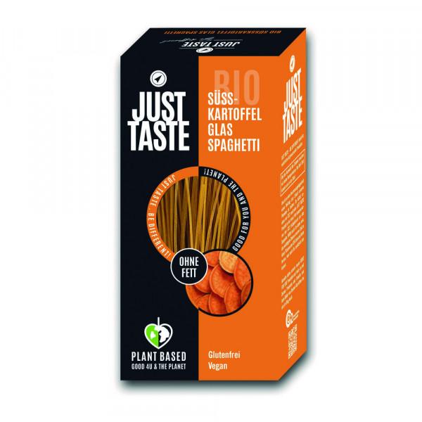 Bio Süßkartoffel Glas-Spaghetti