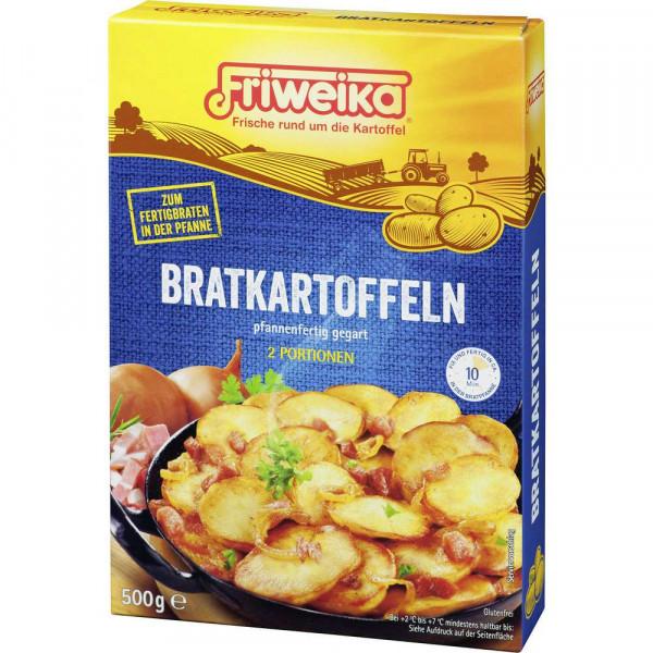 Bratkartoffeln pfannenfertig gegart