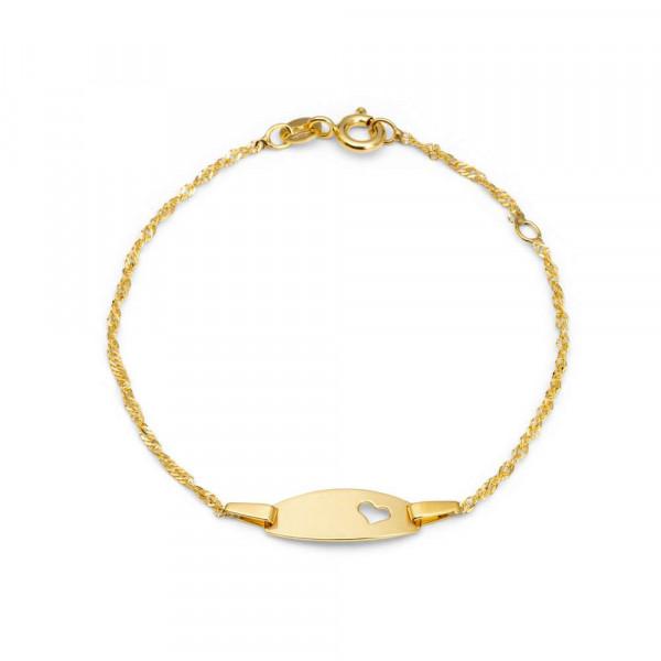 Mädchen Armband aus Gold 375 (4056866013872)