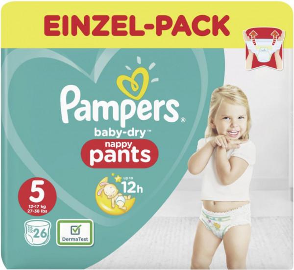 Windeln Baby Dry Pants Gr. 5 Junior, 12-17kg