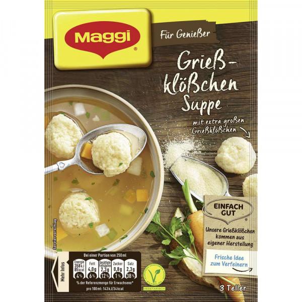 """Gewürzmischung """"Für Genießer"""", Grießklößchen Suppe"""