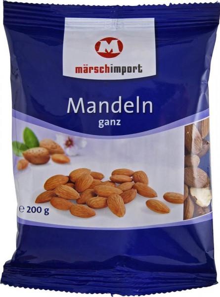 Mandeln, ganz