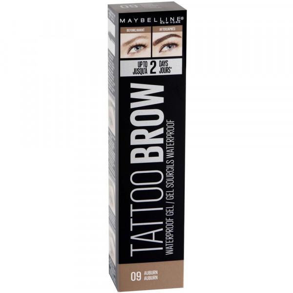 Augenbrauenstift Tattoo Brow Waterproof Gel, Auburn 09