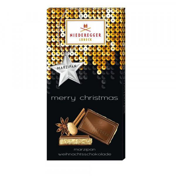 "Weihnachtsschokolade ""Marzipan"""