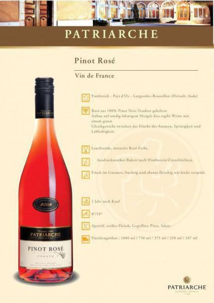 Pinot Rosé Vin de France