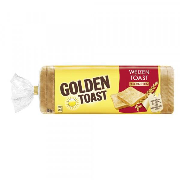 Weizen-Toast plus Calcium