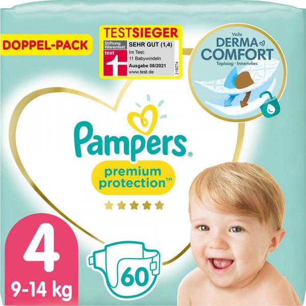 Windeln Premium Protection Gr. 4, 9-14kg Doppelpack