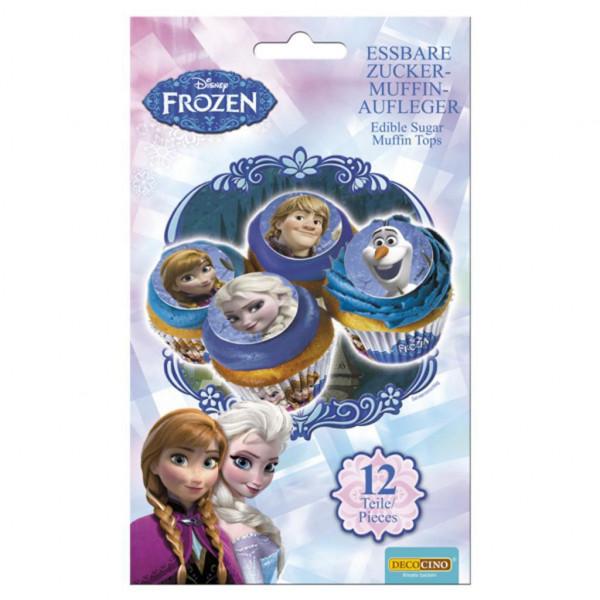 """Zuckerdekoration Muffin, """"Frozen"""""""