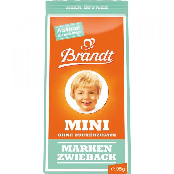 Mini Markenzwieback, ohne Zuckerzusatz