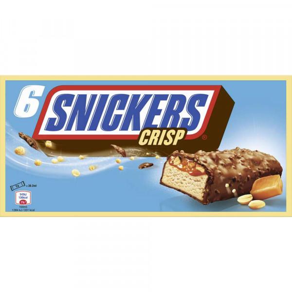 Snickers Crisp Eis