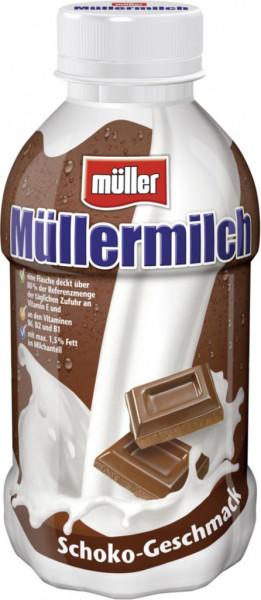 Müllermilch, Schoko (1 x 400 Milliliter)
