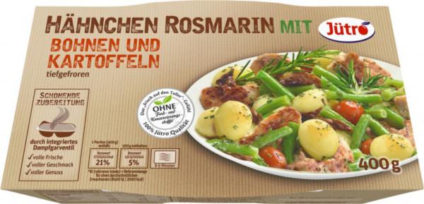 Hähnchen-Rosmarin mit Bohnen & Kartoffeln, tiefgekühlt