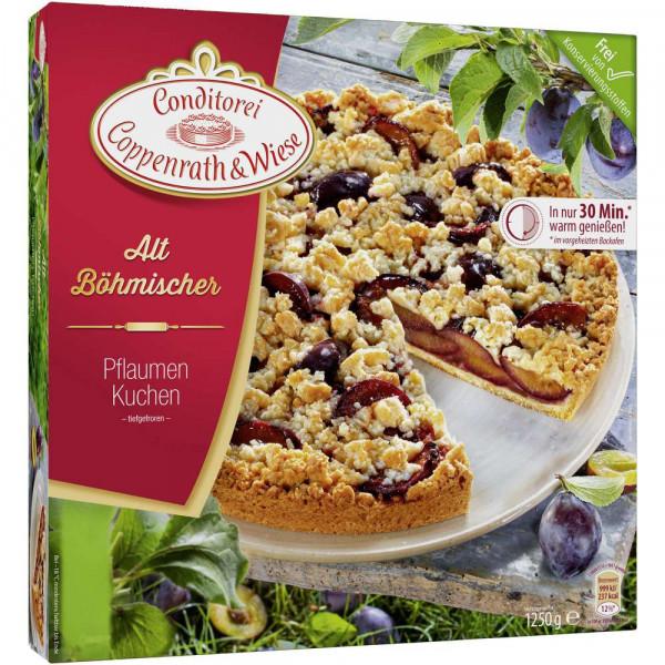 Altböhmische Kuchen, Pflaume, tiefgekühlt