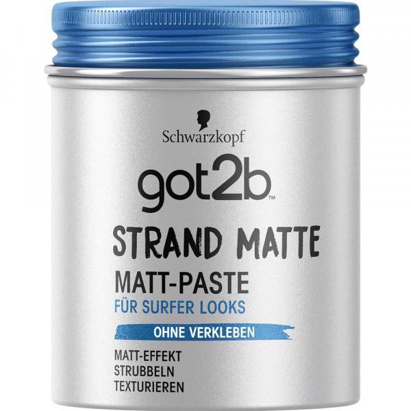 """Haarpaste """"got2b"""", strand matte"""