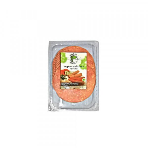 Veganer Soja-Aufschnitt, Rustikal