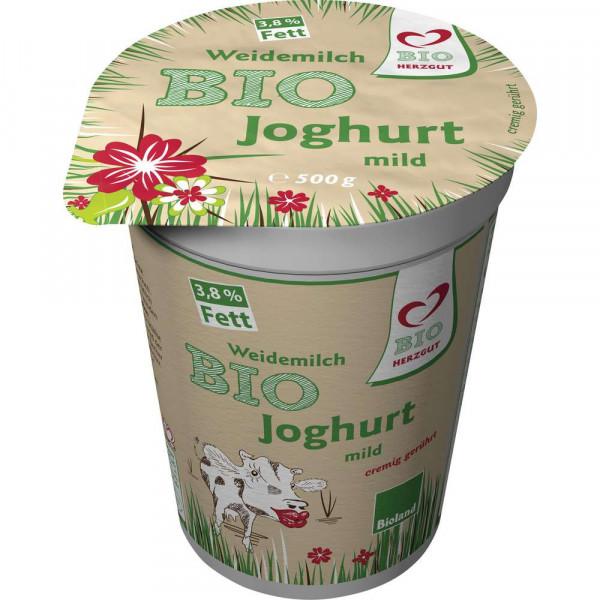 Bio Weidemilchjoghurt, 3,8% Fett