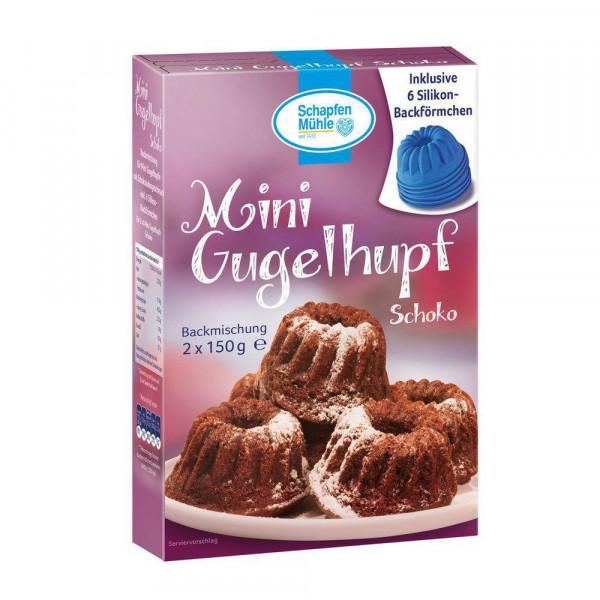 """Backmischung """"Mini Gugelhupf"""", Schokolade"""