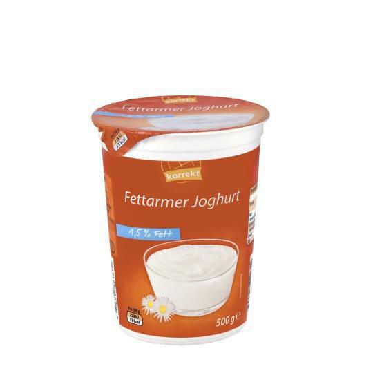 Fettarmer Joghurt 1,5% Fett